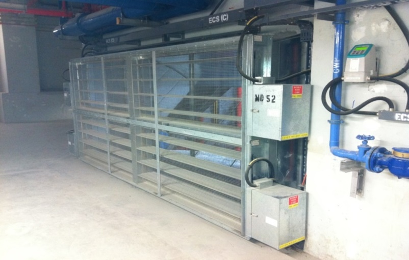 Motorized Smoke Dampers Sd18 Connols Air Pte Ltd