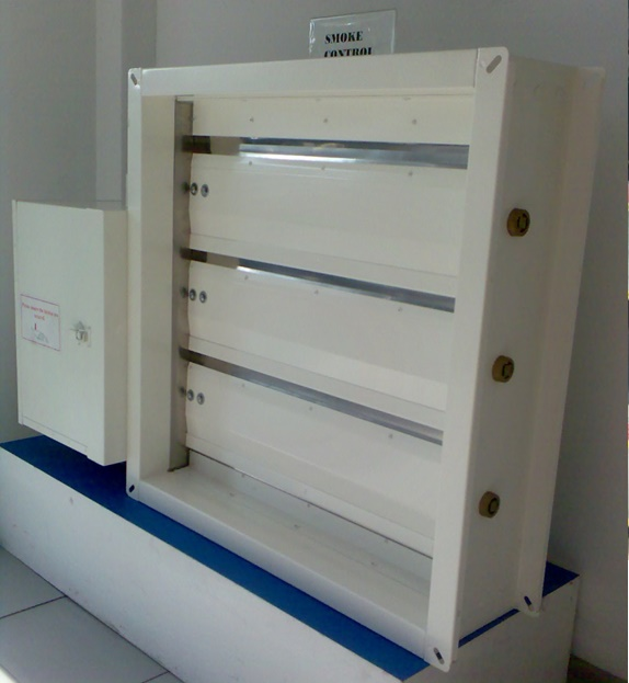 Motorized Smoke Dampers (SD18) - Connols-Air Pte Ltd